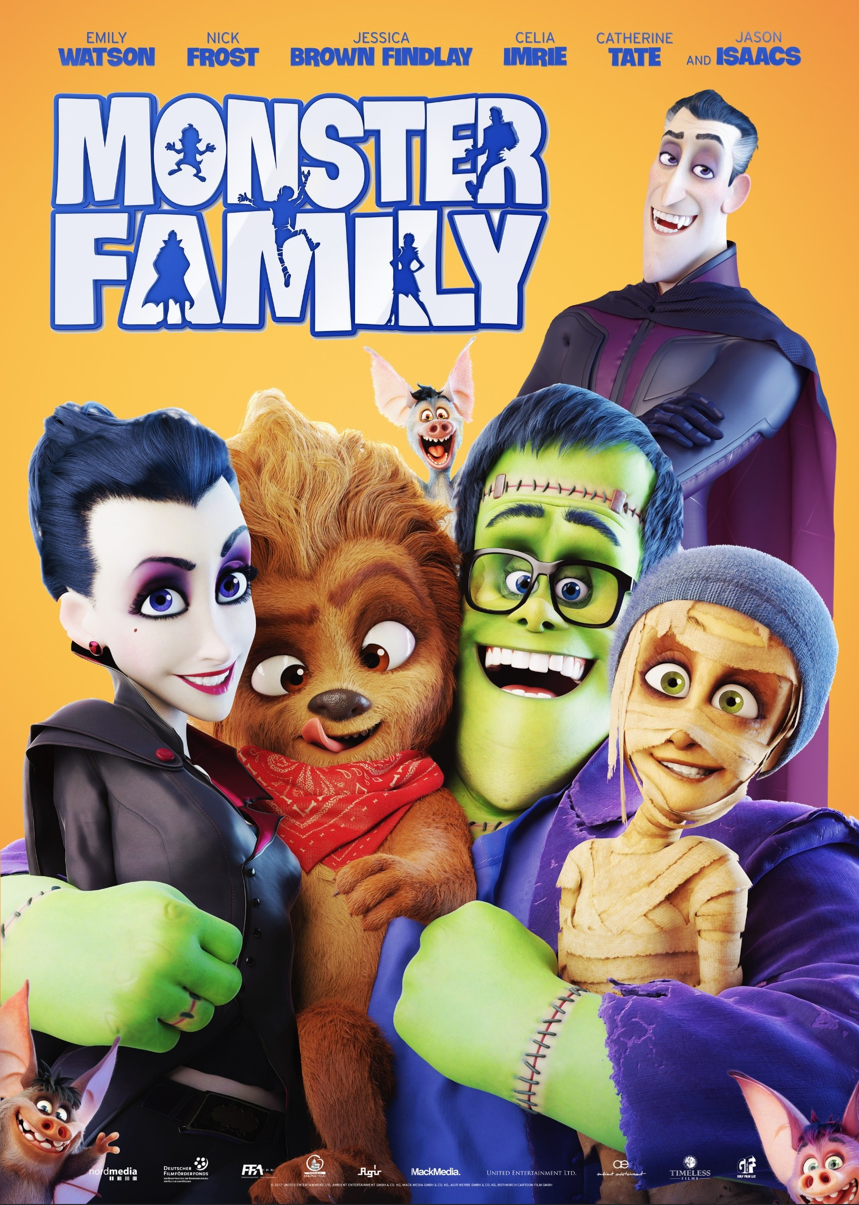 Monster Family [2017 UK & Germany Movie] Animation, Comedy, Family