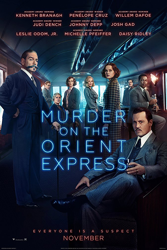 Murder On The Orient Express [2017 USA Movie] Crime, Drama, Mystery