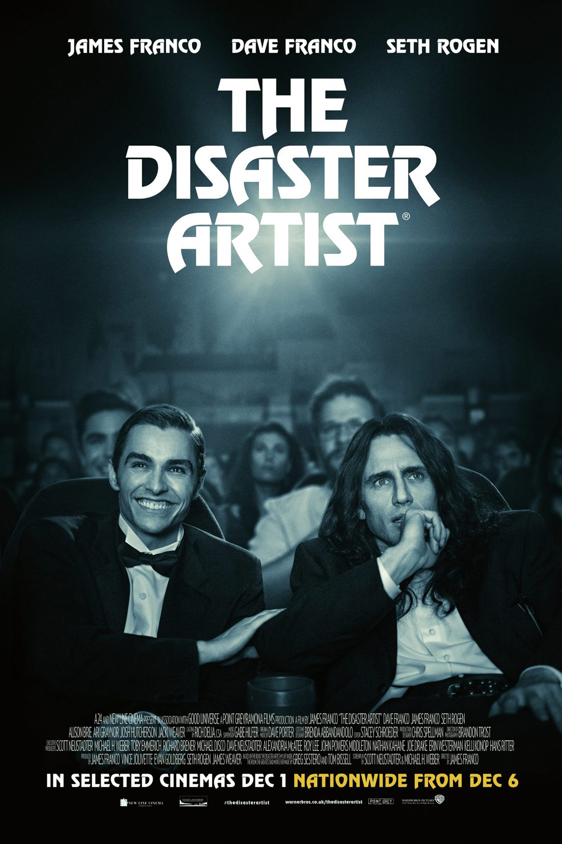 The Disaster Artist [2017 USA Movie] Drama, Comedy, True Story