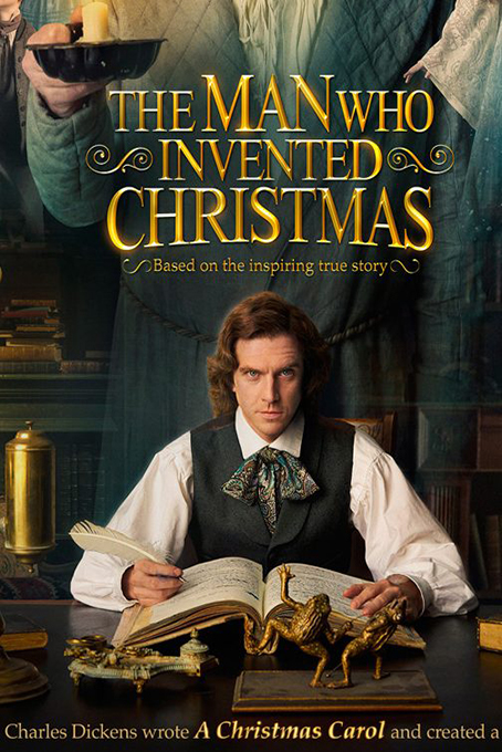 The Man Who Invented Chrismas [2017 Ireland & Canada Movie] Comedy, True Story, Drama