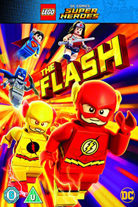 Lego DC Comics Superheroes: The Flash [2018 USA Movie] Animation, Family