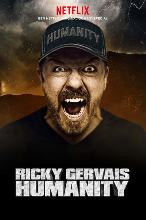 Ricky Gervais: Humanity [2018 UK Movie] Comedy, Stand Up Show