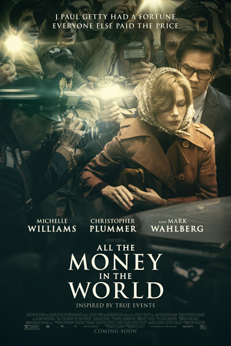 All The Money in the World [2017 USA Movie]  Biography, Crime, Drama, Tue Story