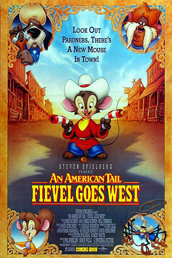 An American Tail: Fievel Goes West [1991 USA Movie] Animation, Family