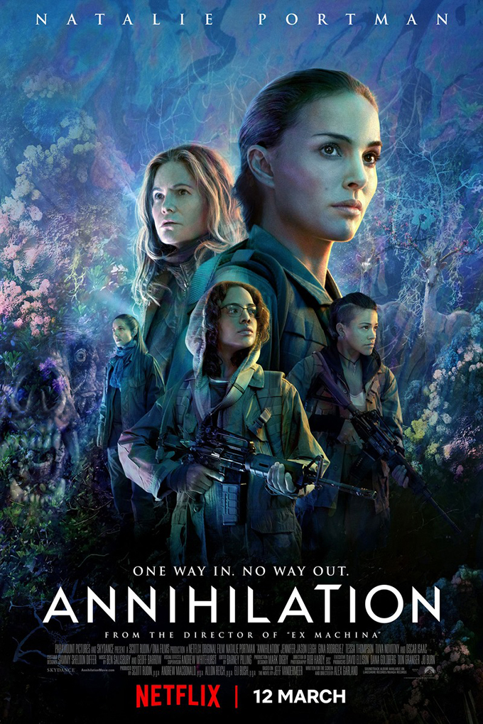 Annihilation [2018 USA & UK Movie] Adventure, Drama, Fantasy