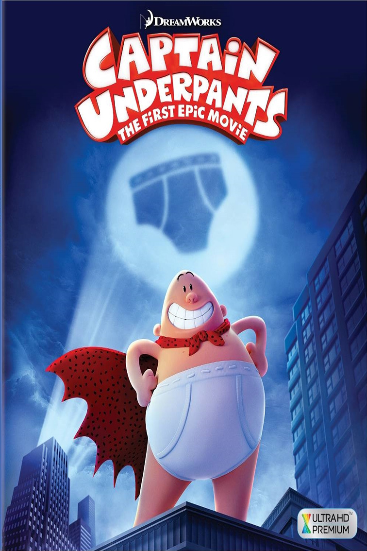 Captain Underpants The First Epic Movie [2017 USA Movie] Animation, Action