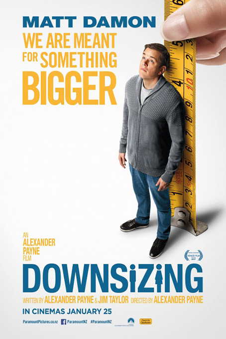 Downsizing [2017 USA Movie] Comedy, Drama, Sci Fi