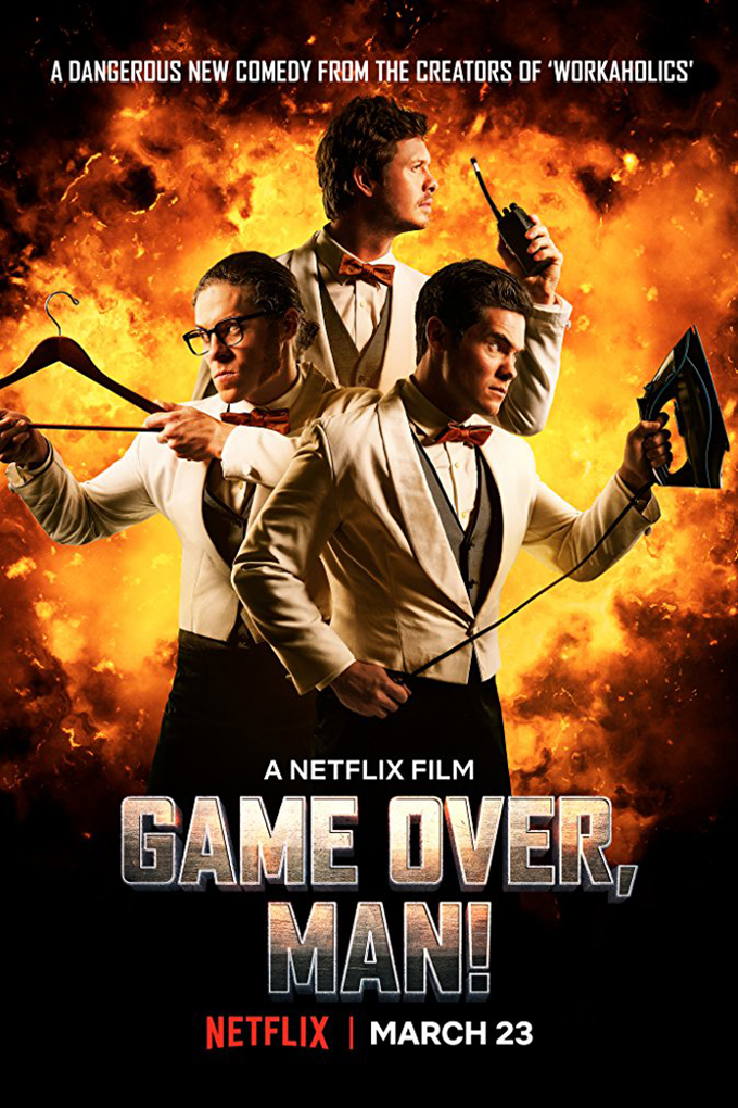 Game Over, Man! [2018 USA Movie] Action, Comedy