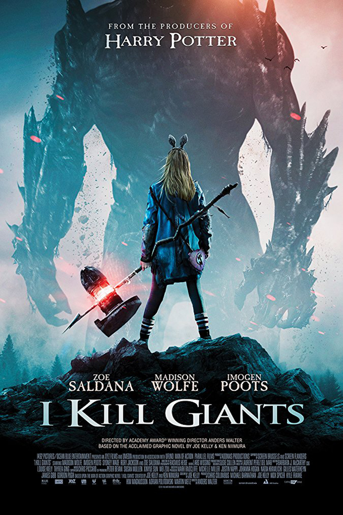 I Kill Giants [2018 USA, UK & Belgium Movie] Drama, Fantasy, Thriller
