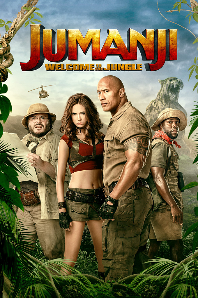 Jumanji Welcome to the Jungle [2017 USA Movie] Action, Adventure, Comedy