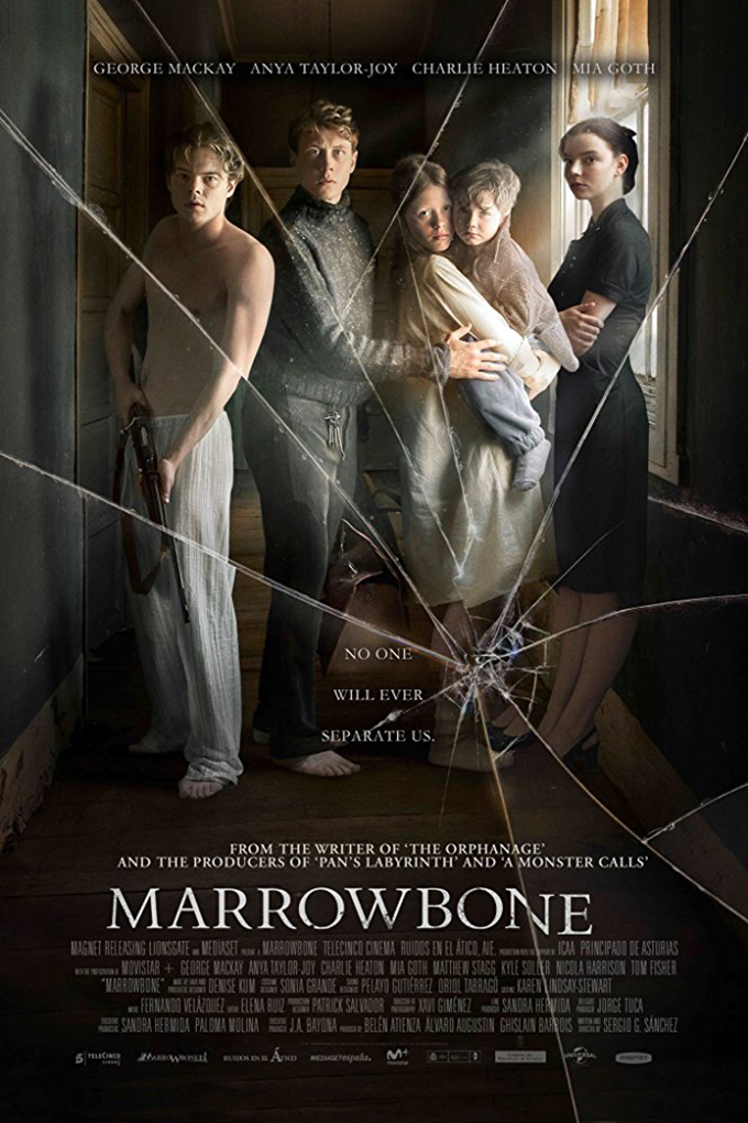 Marrowbone [2017 USA Movie] Drama, Horror, Thriller