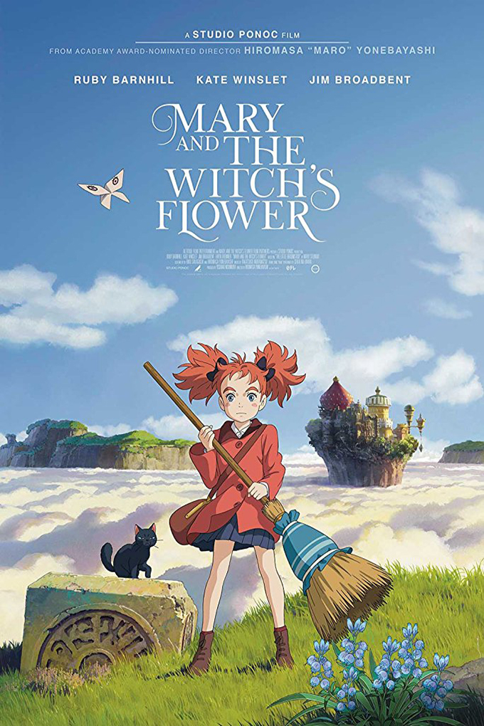 Mary and the Witch's Flower [2017 Japan Movie] Animation, Adventure, Family, Fantasy