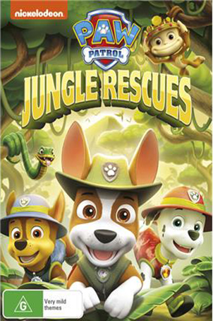 Paw Patrol Jungle Rescue [2017 USA Movie] Animation, Family