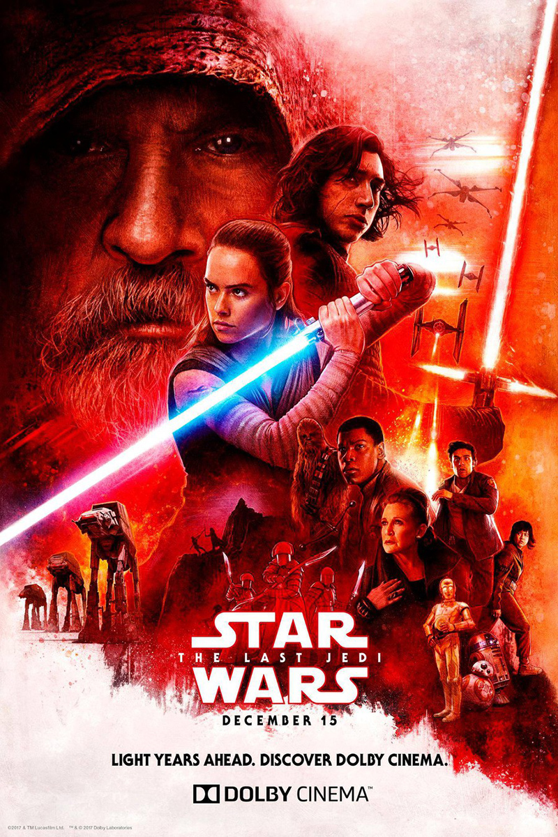 Star Wars Episode VIII: The Last Jedi [2017 USA Movie] Action, Sci Fi