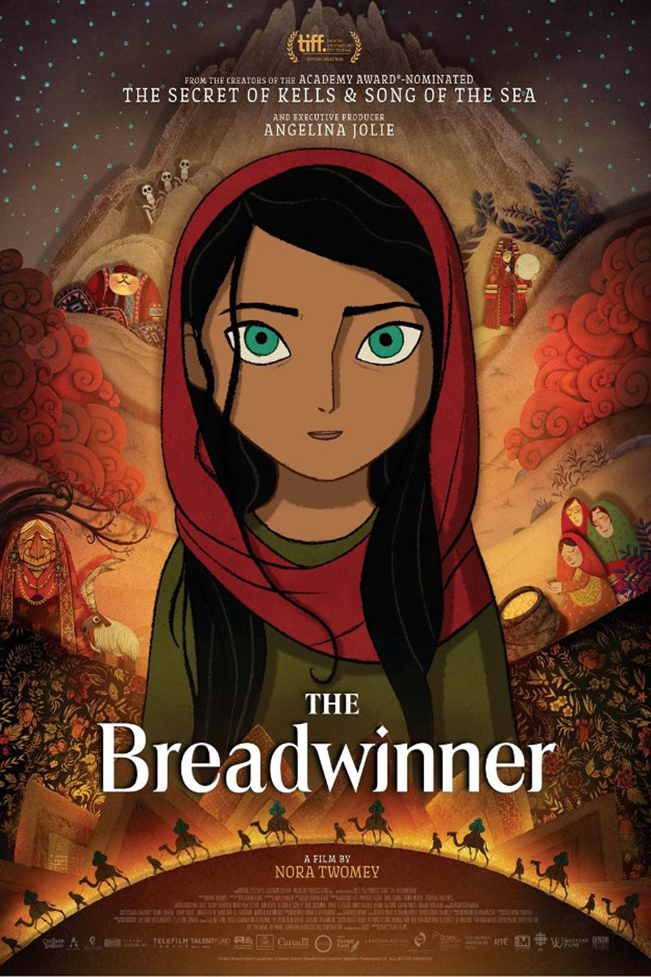 The Breadwinner [2017 Ireland, Canada & Luxembourg Movie] Animation, Family