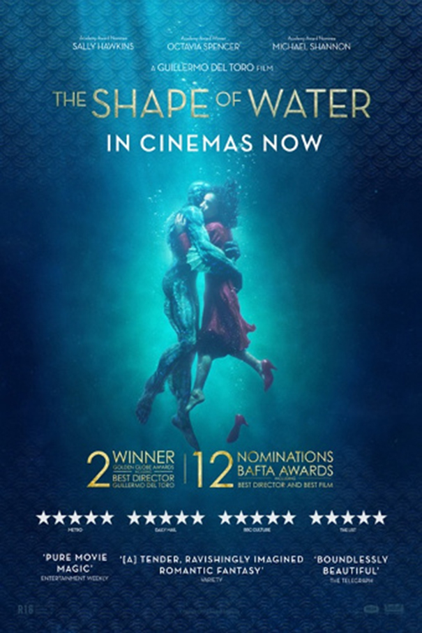 The Shape of Water [2017 USA Movie] Adventure, Drama, Fan tasy