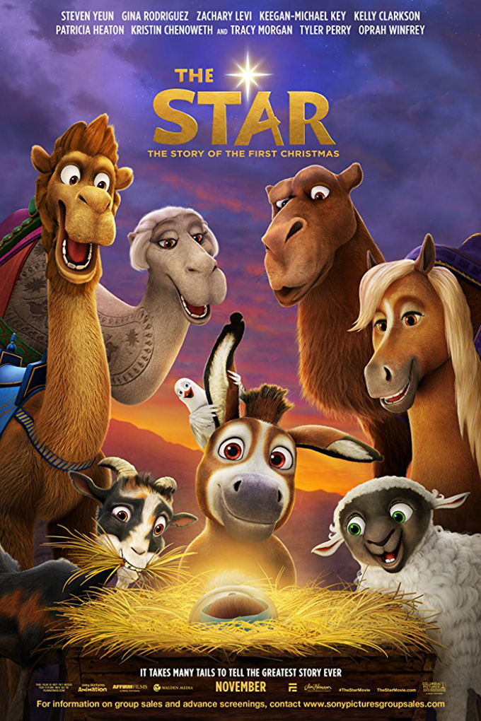 The Star [2017 USA movie] Animation, Family