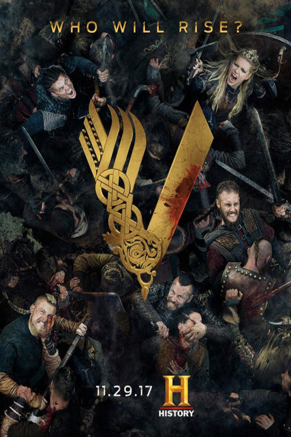 Vikings SEASON 5 Completed [2013 – Current USA Series]
