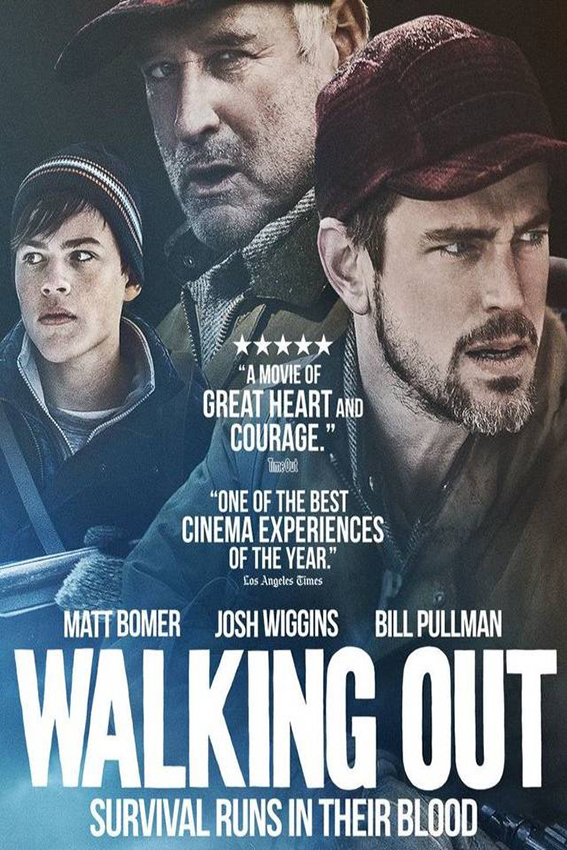 Walking Out [2017 USA Movie] Adventure, Drama, Mystery