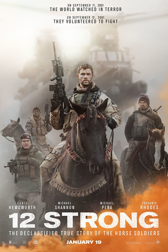 12 Strong [2018 USA Movie] Action, Drama, History, True Story
