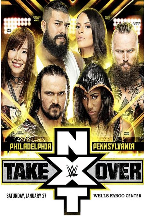 WWE NXT Take Over Philadelphia [2018 USA Movie] Sport, Show