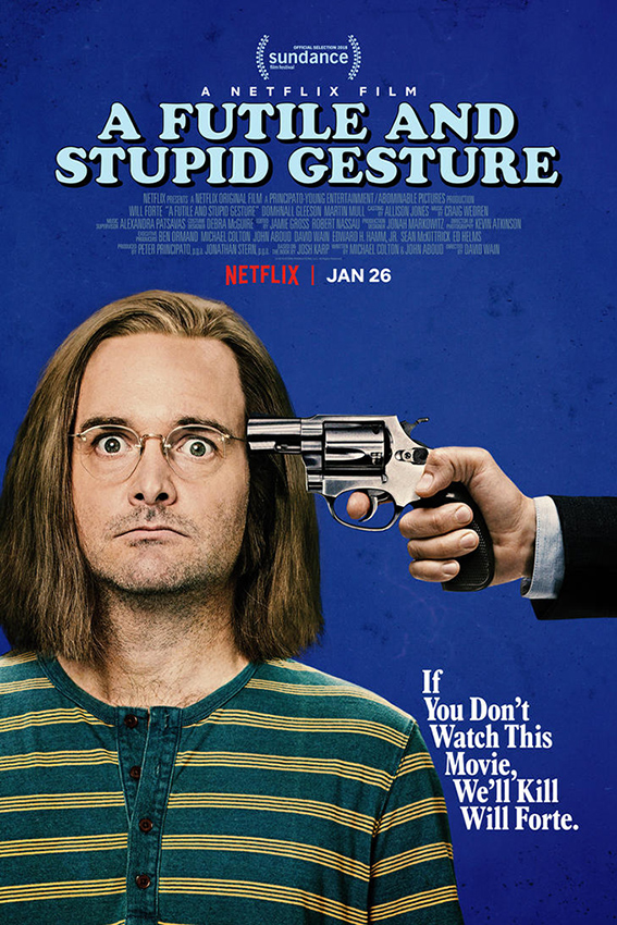 A Futile and Stupid Gesture [2017 USA Movie] Comedy, Biography