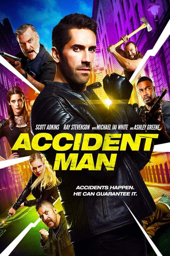 Accident Man [2018 UK Movie] Action, Crime, Thriller