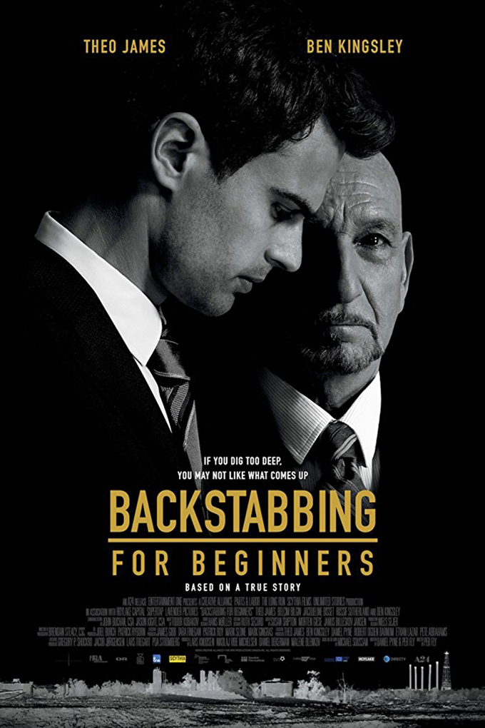Backstabbing For Beginners [2018 USA Movie] Drama, Thriller, History, True Story