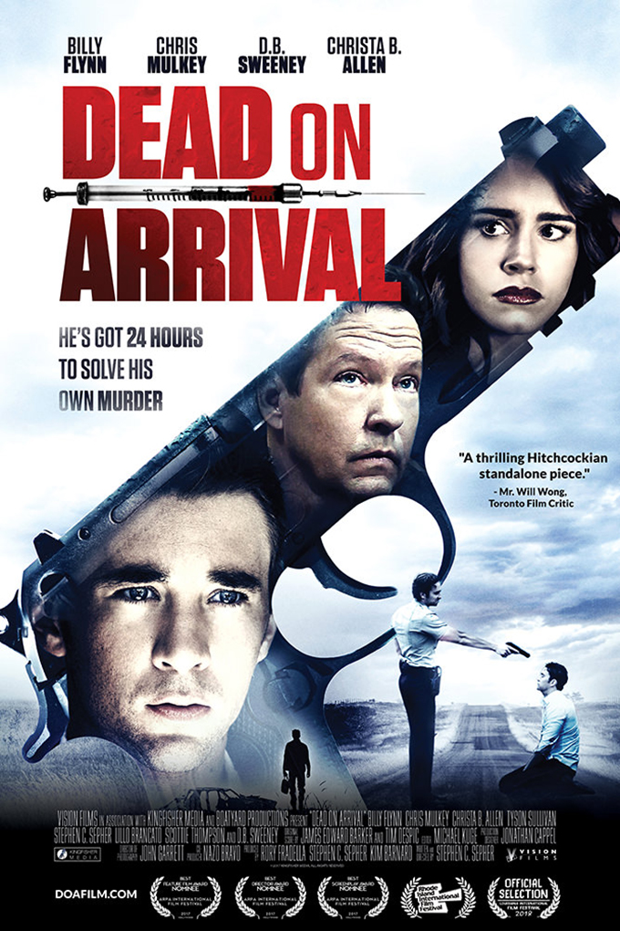 Dead On Arrival [2018 USA Movie] Thriller