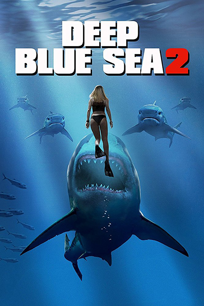 Deep Blue Sea 2 [2018 USA Movie] Horror, Thriller, Sci Fi
