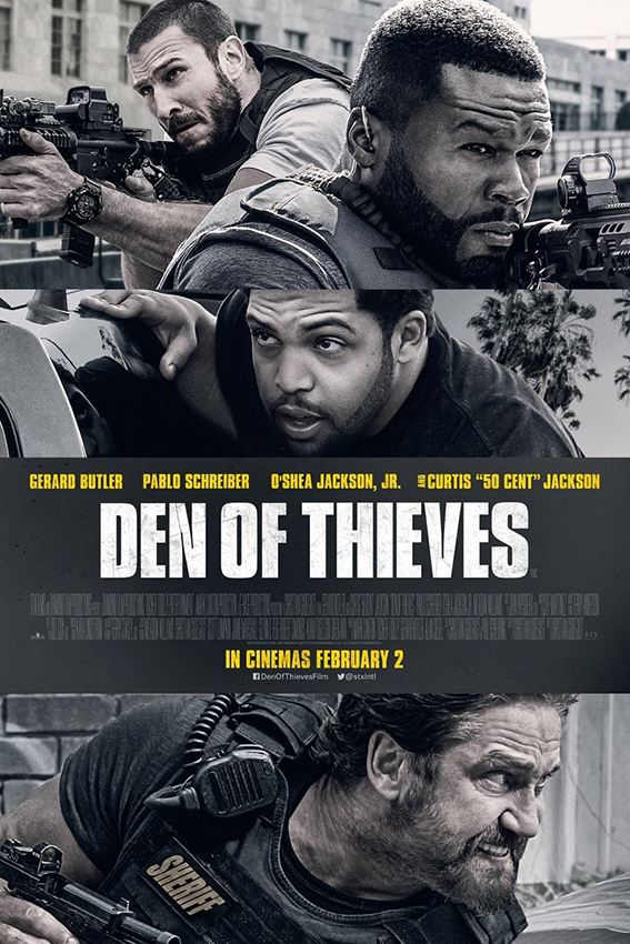 Den of Thieves [2018 USA Movie] Action, Crime, Drama