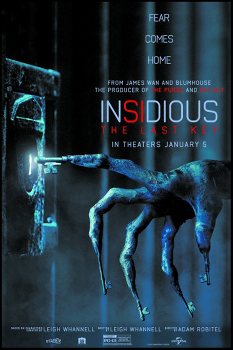 Insidious 4: The Last Key [2018 USA & Canada Movie] Horror, Mystery, Thriller