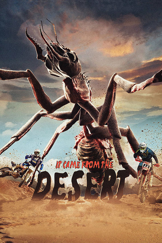 It Came From The Desert [2017 Finland, UK & Canada Movie] Action, Comedy, Horror