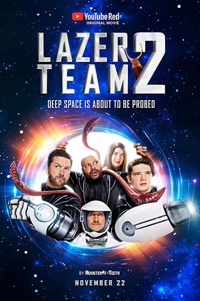 Lazer Team 2 [2018 USA Movie] Sci Fi, Comedy