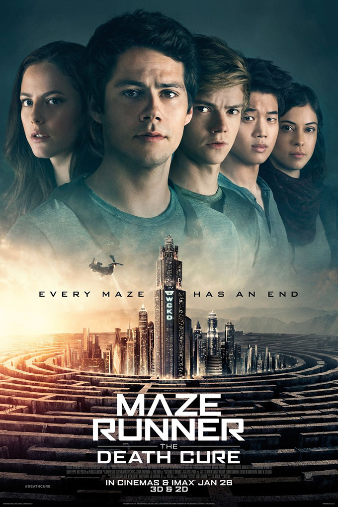 Maze Runner 3: The Death Cure [2018 USA Movie] Action, Sci Fi, Fantasy
