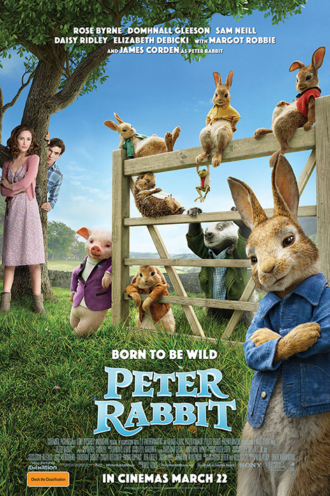 Peter Rabbit [2018 Australia & USA Movie] Animation, Adventure, Family
