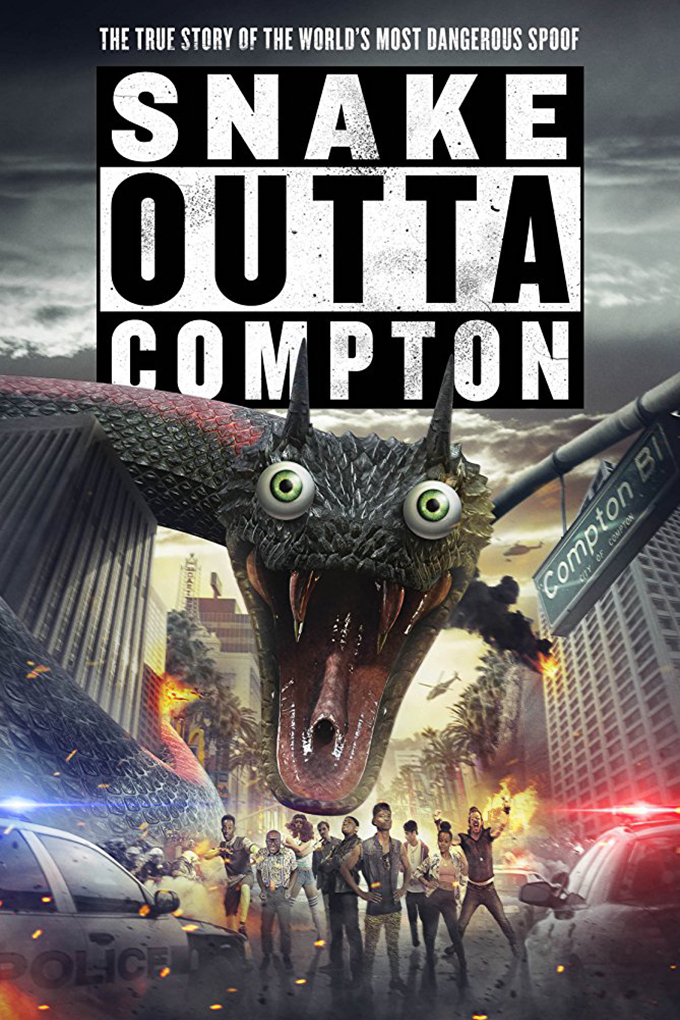 Snake Outta Compton [2018 USA Movie] Comedy, Horror, Sci Fi