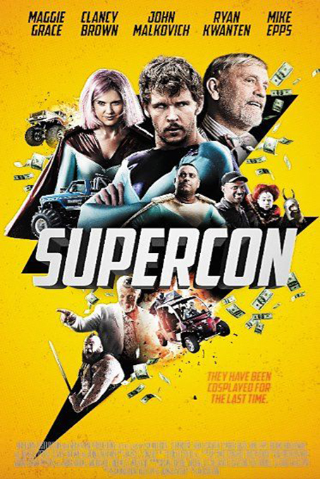 Supercon [2018 USA Movie] Comedy