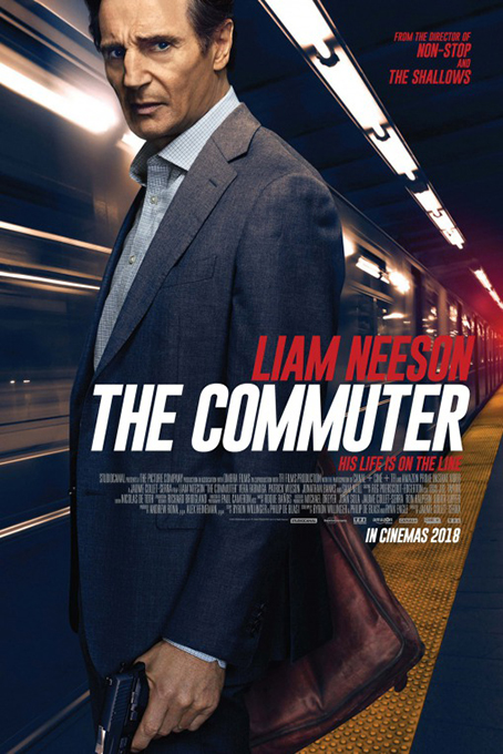 The Commuter [2018 USA, UK & France Movie] Action, Crime, Drama, Mystery