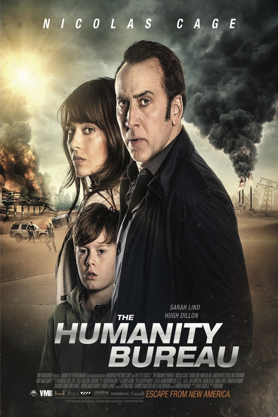The Humanity Bureau [2017 Canada Movie] Action, Sci Fi