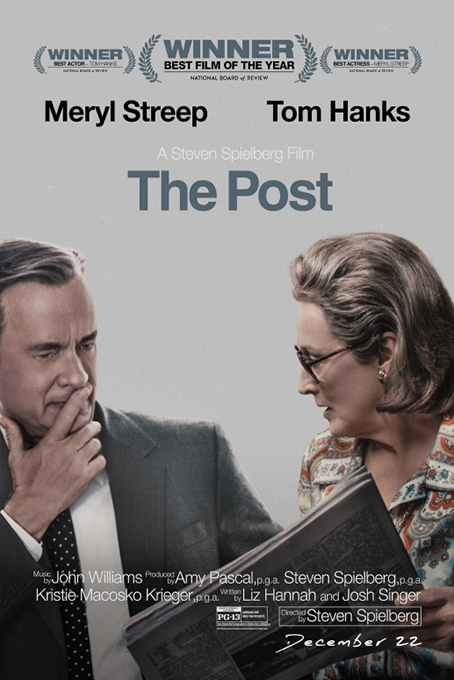 The Post [2017 USA & UK Movie] Biography, Drama, Thriller, True Story