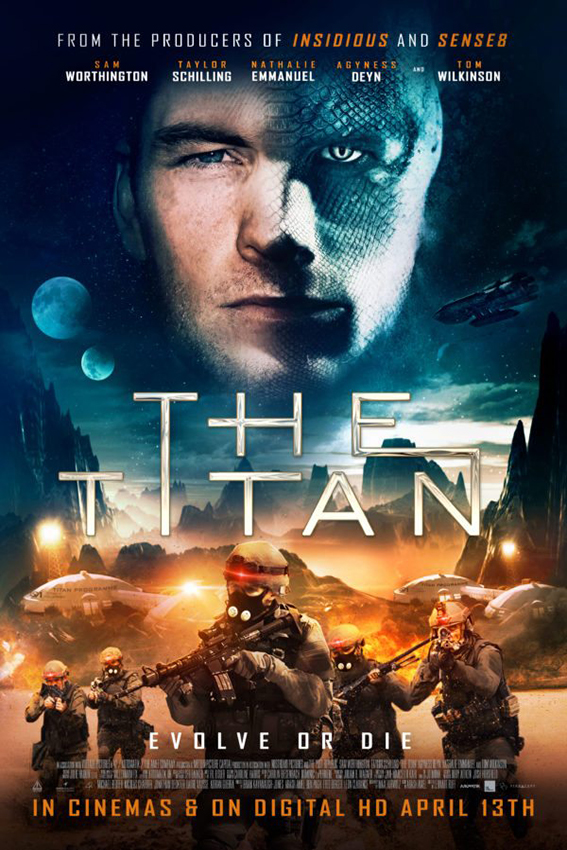 The Titan [2018 USA, UK & Spain Movie] Sci Fi