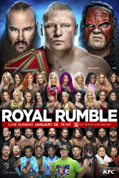 WWE Royal Rumble 2018 [2018 USA Movie] Sport, Show