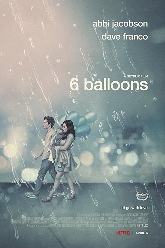 6 Balloons [2018 USA Movie]  Drama