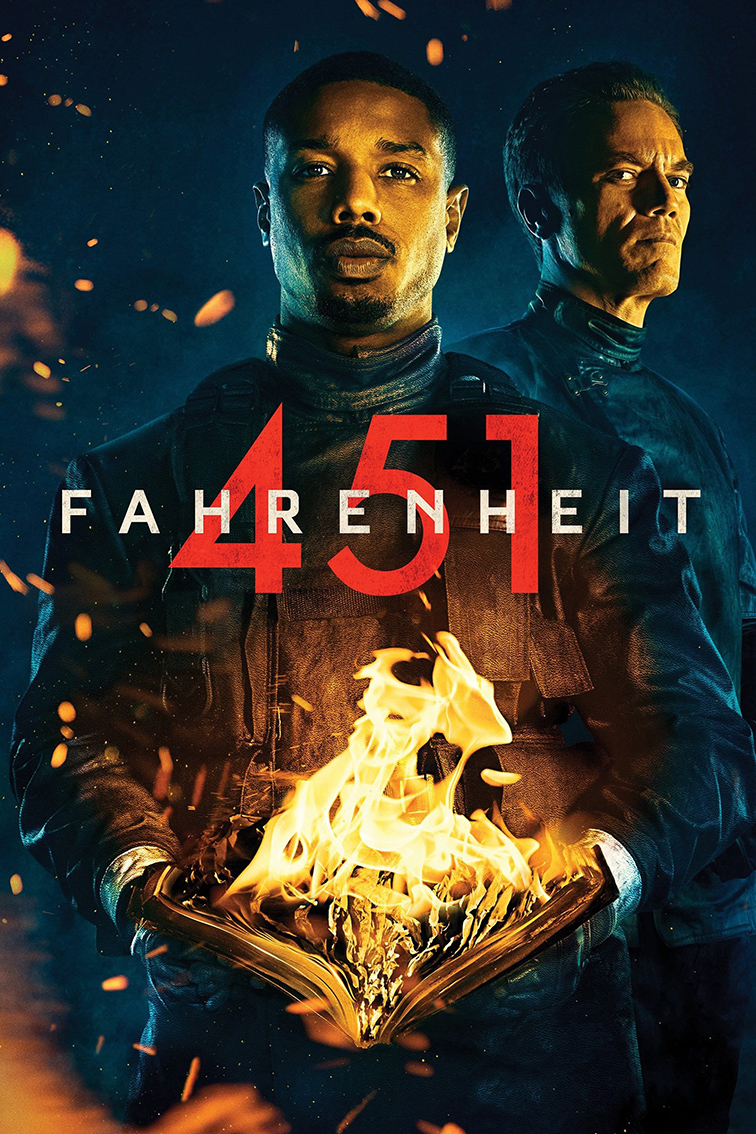 Fahrenheit 451 [2018 USA Movie] Drama, Sci Fi