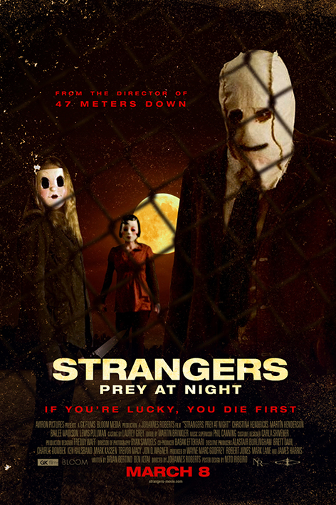The Strangers Prey at Night [2018 USA Movie] Horror