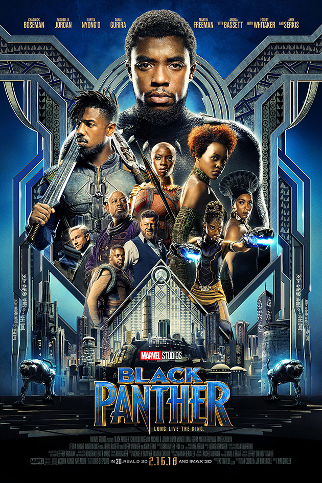 Black Panther [2018 USA Movie] Action, Adventure, Sci Fi