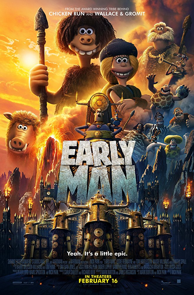 Early Man [2018 USA, UK & France Movie] Animation, Fantasy