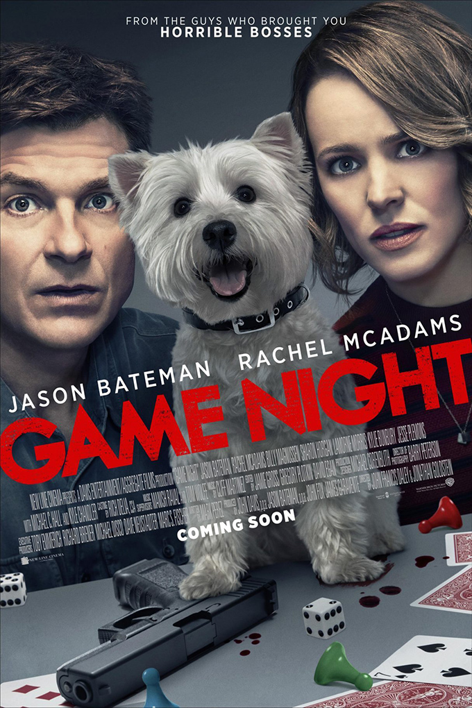 Game Night [2018 USA Movie] Comedy, Crime, Thriller