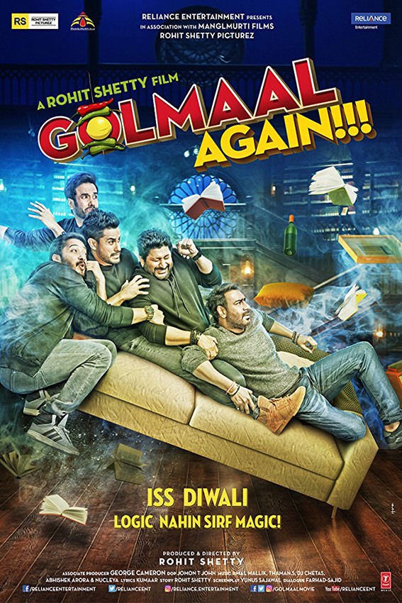Golmaal Again [2017 India Movie] Action, Comedy, Fantasy